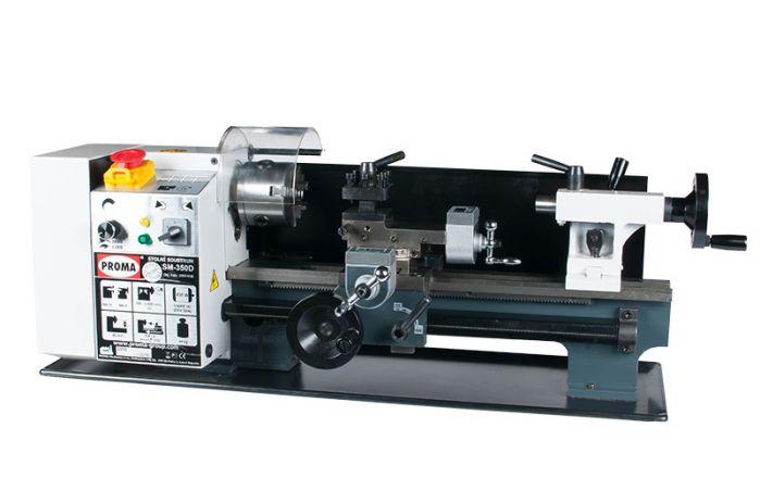 Minitokarka 350 mm z odczytem cyfrowym