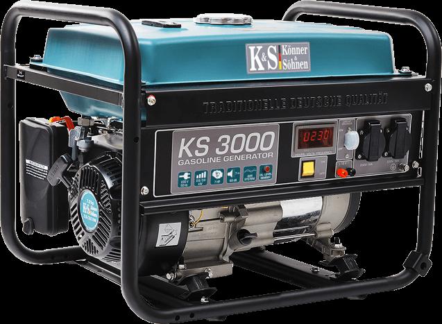 Agregat prądotwórczy benzynowy 3,0 kW