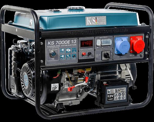 Agregat prądotwórczy benzynowy VTS 5,5 kW