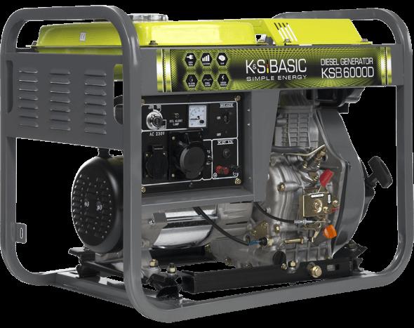 Agregat prądotwórczy diesel Basic 5,5 kW