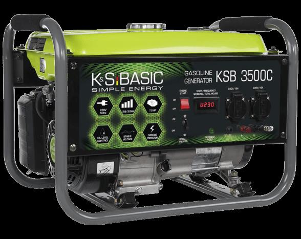 Agregat prądotwórczy benzynowy Basic 2,8 kW